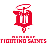 Dubuque Fighting Saints logo