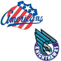 Rochester Americans Knighthawks logo