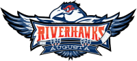 Riverhawks logo